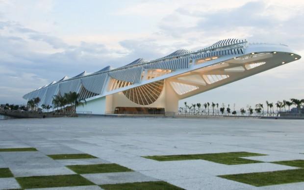 The Museu do Amanhã Courtesy Santiago Calatrava Architects via archpaper