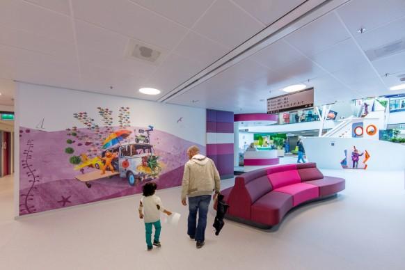 Tinker imagineers, Juliana Children's Hospital. Photo credit: Michael van Oosten