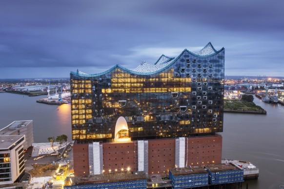 Herzog & de Meuron, Elbphilharmonie Hamburg, photo obs/Hamburg Marketing GmbH/Thies Raetzke