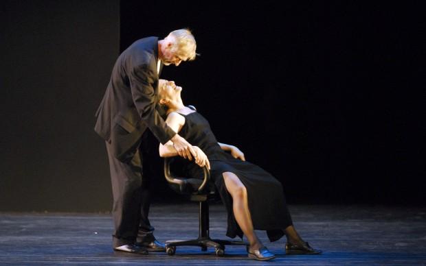 Mats Ek e Ana Laguna in Memory, photo Stephanie Berger