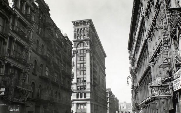 berenice abbott manhattan new york 1935