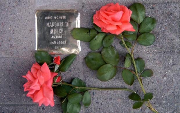 memorie pietre d'inciampo 2016 roma