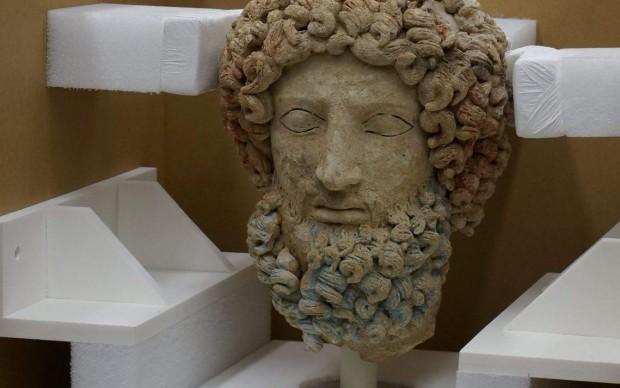 testa di ade getty museum ritorno in italia
