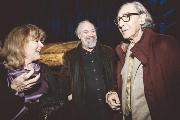 Caterina Caselli, Eugenio Finardi e Franco Battiato ® MESCHINA