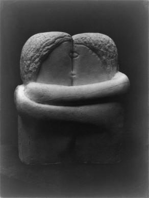 Constantin Brancusi, Il bacio, 1907