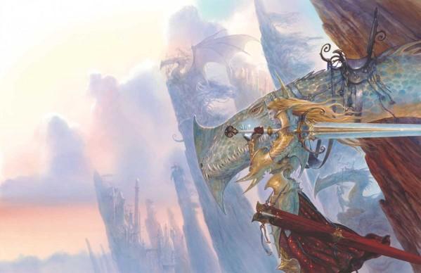 John Howe, Elves & Dragons, originally published by Cry Havoc/Rackham Confrontation