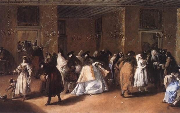 Francesco Guardi Il ridotto 1755