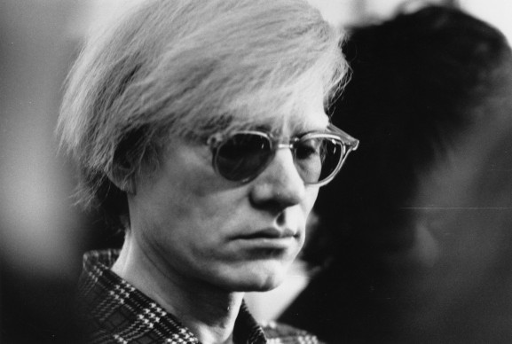 Andy Warhol (Photo by Evening Standard/Getty Images)