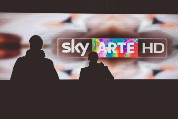 Milano, 26 gennaio 2016: all'HangarBicocca per il terzo anniversario di Sky Arte HD ® MESCHINA