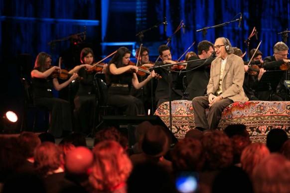 Milano, 26 gennaio 2016: Franco Battiato in concerto all'HangarBicocca per il terzo anniversario di Sky Arte HD ® MESCHINA