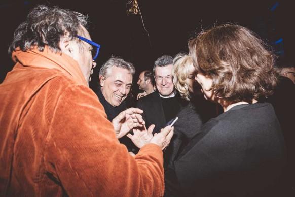 Oliviero Toscani, Stefano Boeri e Roberto Pisoni ® MESCHINA