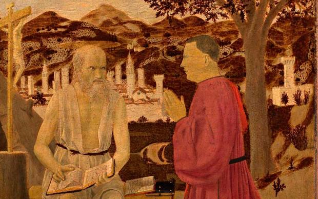 PIERO della francesca_San-Girolamo-e-donatorem