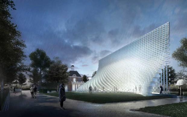 Serpentine Pavilion 2016 designed by Bjarke Ingels Group (BIG); Design render © Bjarke Ingels Group (BIG)