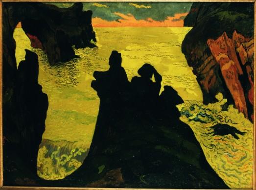 Georges Lacombe, Il mare giallo, Camaret, 1892 circa. Olio su tela, 60,7 x 81,5 cm Brest, Musée des Beaux‐Arts © Musee des Beaux‐Arts de Brest metropole