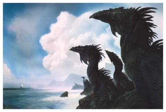 John Howe, The Dragons of Earthsea