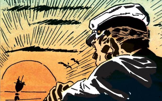 hugo pratt ballata del mare salato corto maltese fumetto italiano