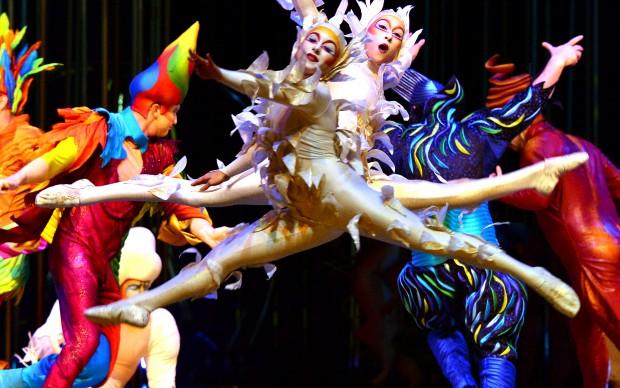 Cirque du Soleil, Varekai. Photo by JARID A. BARRINGER