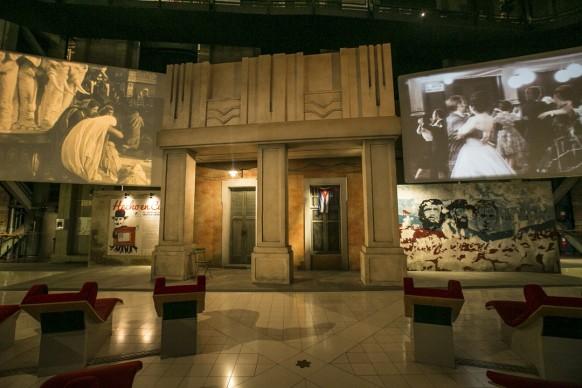 Veduta della mostra 'Hecho en Cuba. Il cinema nella grafica cubana. Manifesti dalla collezione Bardellotto'  in corso fino al 29 agosto presso il Museo del Cinema di Torino, ph. by Sabrina Gazzola