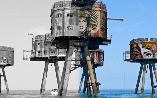 street art painted oceans campagna crowdfunding kickstarter