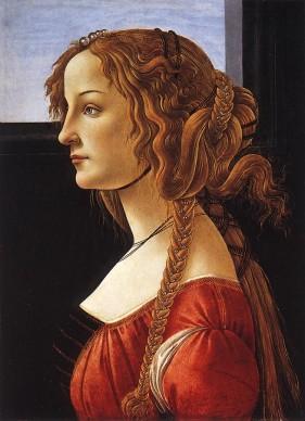Sandro Botticelli, Ritratto di giovane donna