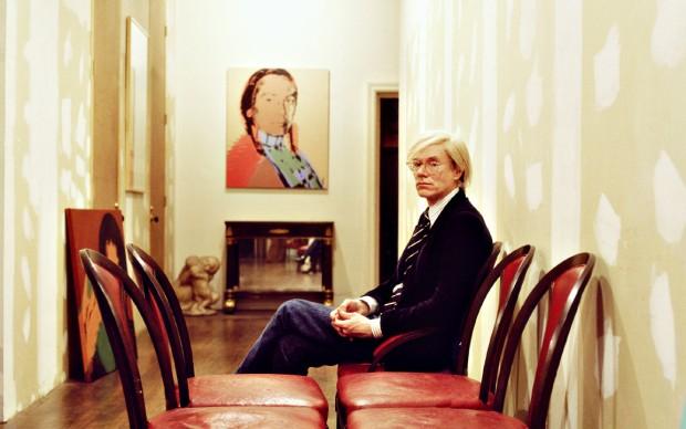 Aurelio Amendola, Andy Warhol .La Factory New York 1977