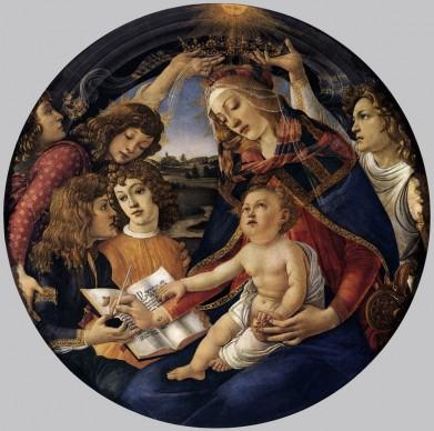 Sandro Botticelli, Madonna del Magnificat, 1481