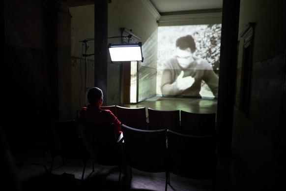 Nel backstage di 'Artists in Love'. Photo credits: Daniele Cruciani per Sky Arte HD