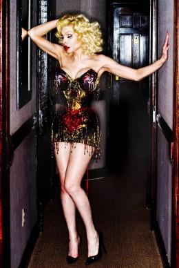 David LaChapelle, Amanda Lepore wearing a Gabriel Moginot haute couture corset