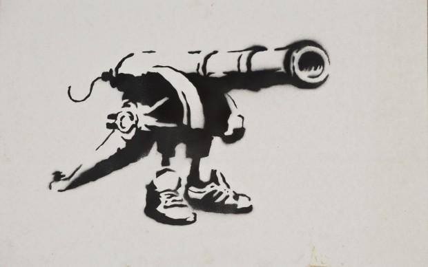 Banksy | Courtesy: Sammlung Reinking | Photo: Joachim Fliegner
