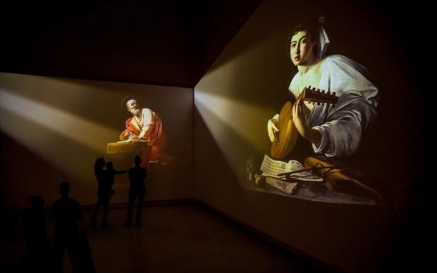 CARAVAGGIO IMMERSIVE EXPERIENCE palazzo delle esposizioni roma