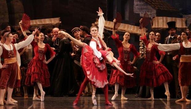 Don Chisciotte - Nicoletta Manni e Leonid Sarafanov - ph Brescia-Amisano Teatro alla Scala