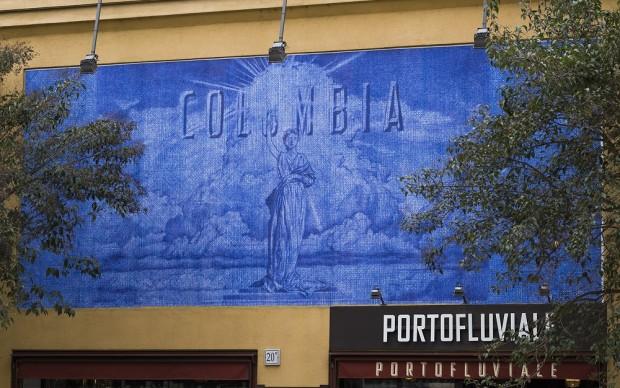 Giuseppe Stampone, The Show Must Go On, progetto Skin Arte terza edizione, PortoFluviale - Roma 2