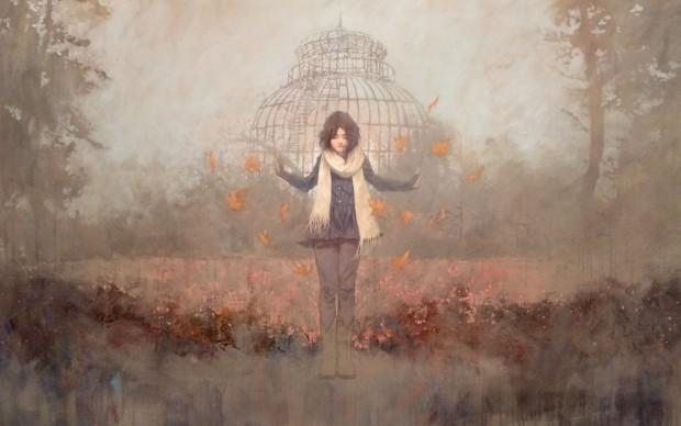 INFANTE FEDERICO, The Greenhouse, 2014, AcrIlico su tela, 121x177 cm