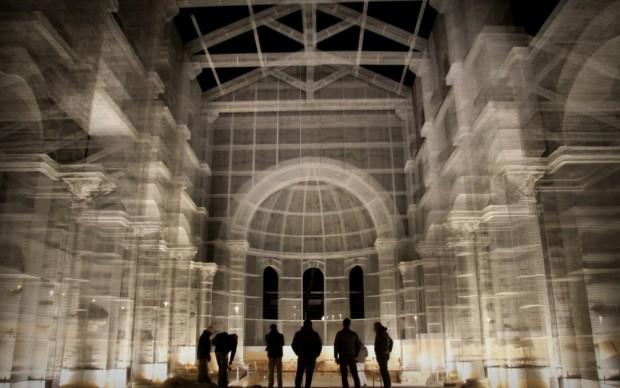 L'installazione di Edoardo Tresoldi per la Basilica paleocristiana di Santa Maria Maggiore Siponto © Giacomo Pepe