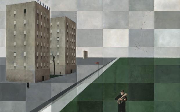 Paolo Ventura La Città infinita photographica fineart galleria lugano