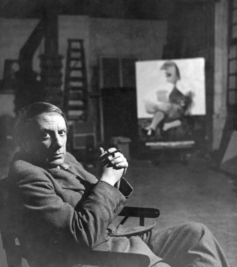 Pablo Picasso nel suo studio a Parigi, nel 1935 (Photo by Peter Rose-Pulman/March of Time/The LIFE Picture Collection/Getty Images)