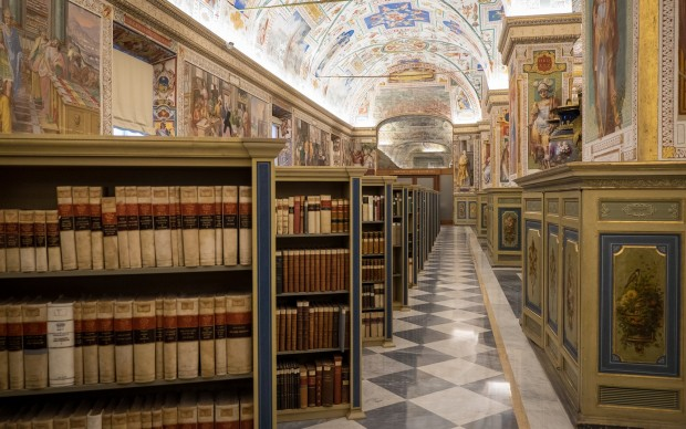 Salone Sistino della Biblioteca Apostolica Vaticana