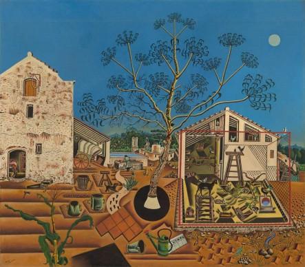 Joan Miró, The Farm (La Ferme), 1921-22 National Gallery of Art, Washington, D.C., Gift of Mary Hemingway © Successió Miró / VG Bild-Kunst, Bonn 2016
