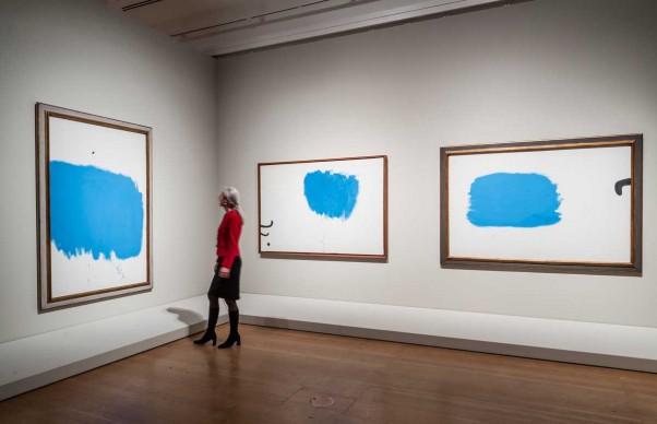 Joan Miró. Painting Walls Painting Worlds, veduta della mostra © Schirn Kunsthalle Frankfurt, 2016. Photo: Norbert Miguletz