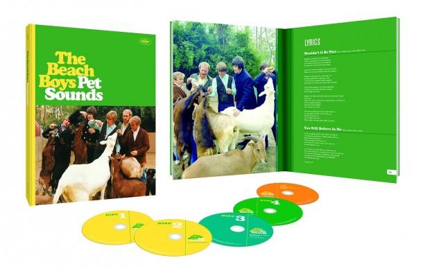 beach boys pet sounds album edizione speciale 50 anni giugno 2016