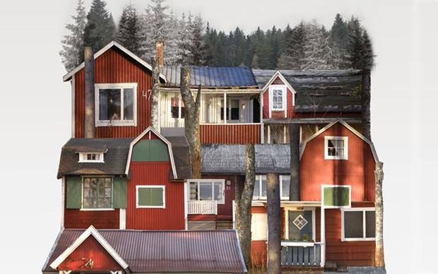 genius-loci-collage-architettura-paesaggio-urbano