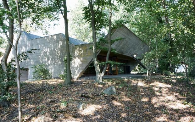 juliaan_lampens_house architettura brutalista belgio