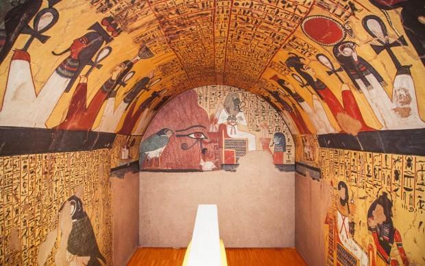 la tomba di pashedu padova museo archeologico