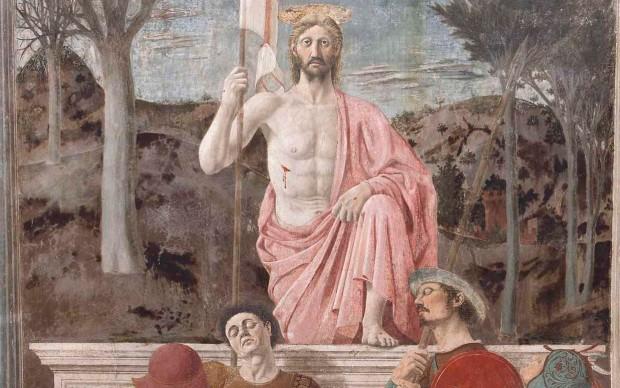 Piero della Francesca - Resurrezione 1460 ca. Museo Civico di Sansepolcro