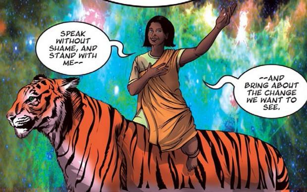 PRIYAS-SHAKTI- graphic novel contro la violenza sessuale in india