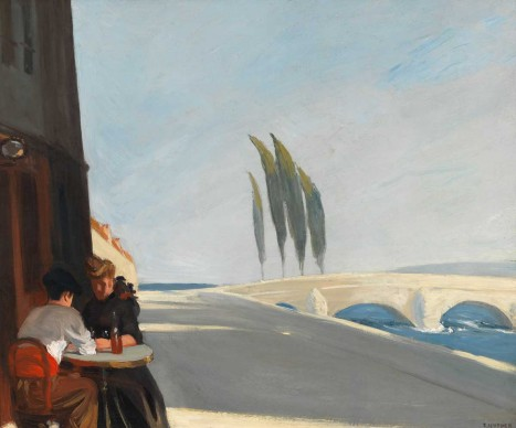 Edward Hopper (1882-1967), Le Bistro or The Wine Shop, 1909, Whitney Museum of American Art, New York; Josephine N. Hopper Bequest © Heirs of Josephine N. Hopper, Licensed by Whitney Museum of American Art