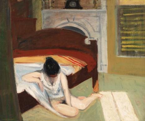 Edward Hopper (1882-1967), Summer Interior, 1909, Whitney Museum of American Art, New York; Josephine N. Hopper Bequest © Heirs of Josephine N. Hopper, Licensed by Whitney Museum of American Art
