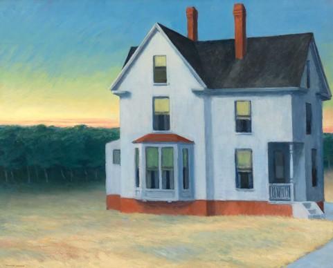 Edward Hopper (1882-1967), Cape Cod Sunset, 1934, Whitney Museum of American Art, New York; Josephine N. Hopper Bequest © Heirs of Josephine N. Hopper, Licensed by Whitney Museum of American Art