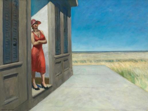 Edward Hopper (1882-1967), South Carolina Morning, 1955, Whitney Museum of American Art, New York; Josephine N. Hopper Bequest © Heirs of Josephine N. Hopper, Licensed by Whitney Museum of American Art