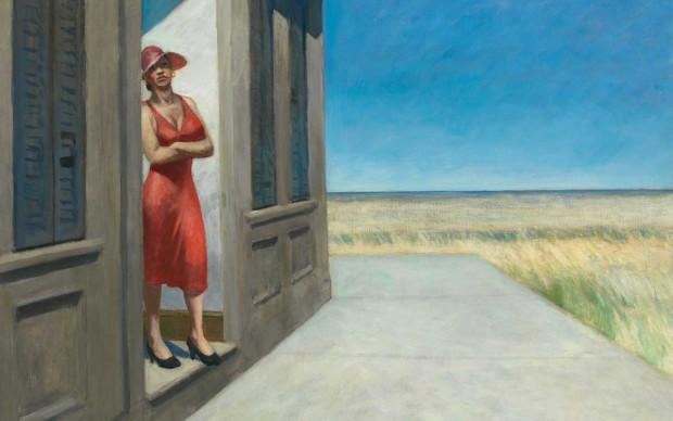 Edward Hopper (1882 1967), South Carolina Morning, 1955, Whitney Museum of American Art, New York; Josephine N. Hopper Bequest © Heirs of Josephine N. Hopper, Licensed by Whitney Museum of American Art